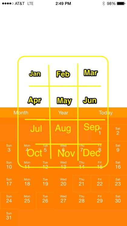 Month view draft